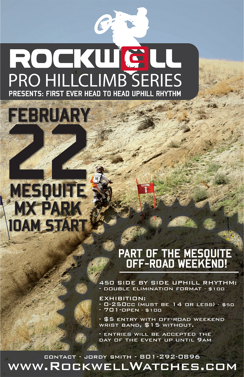 Rockwell Pro Hillclimb Series Logo Download The Entry Form For